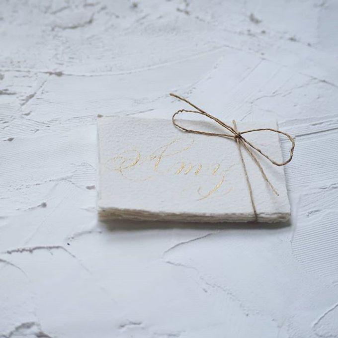 Wedding invitations by xuecalligraphy - 009