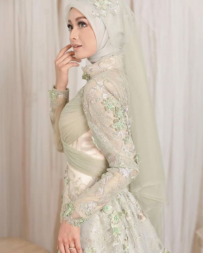 Gester Muslim Bridal by Gester Bridal & Salon Smart Hair - 039