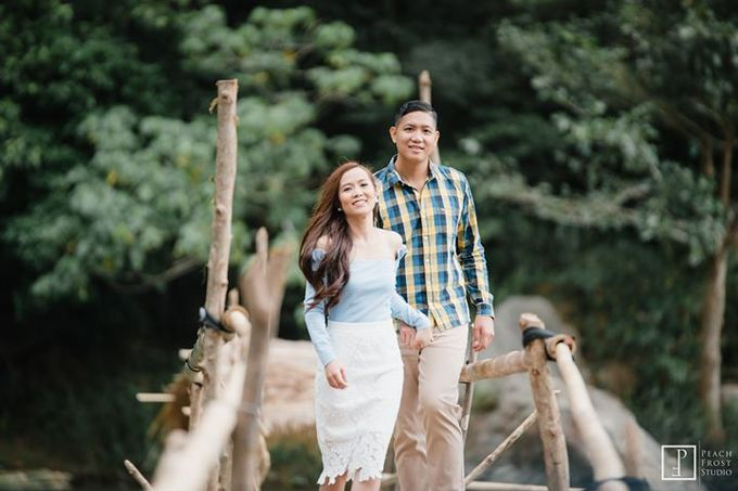 Nature Themed Pre Wedding of Jed & Joan by Peach Frost Studio - 004
