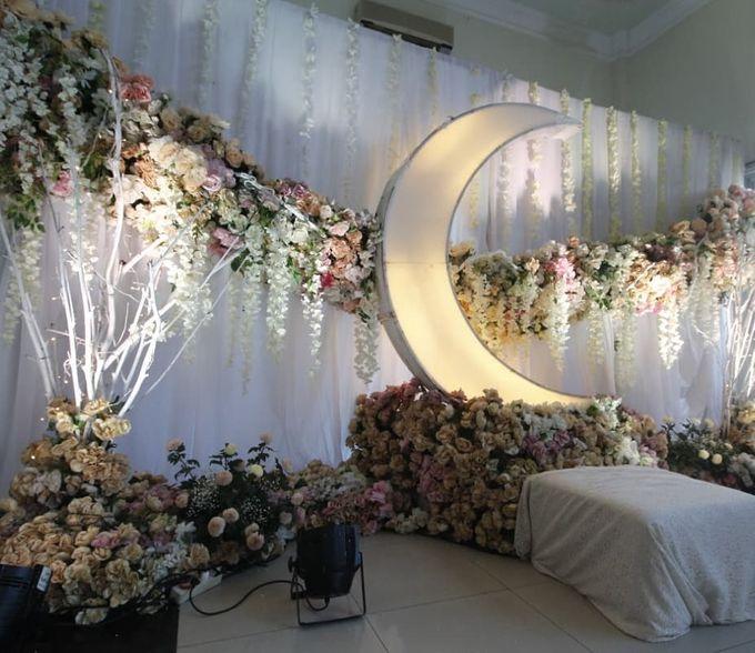 The Wedding of Vina Haqqi by Eden Design - 003