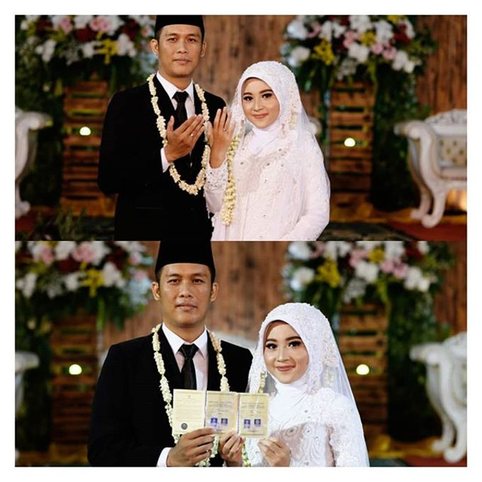Muslimah Bride by R & E Bridal - 001