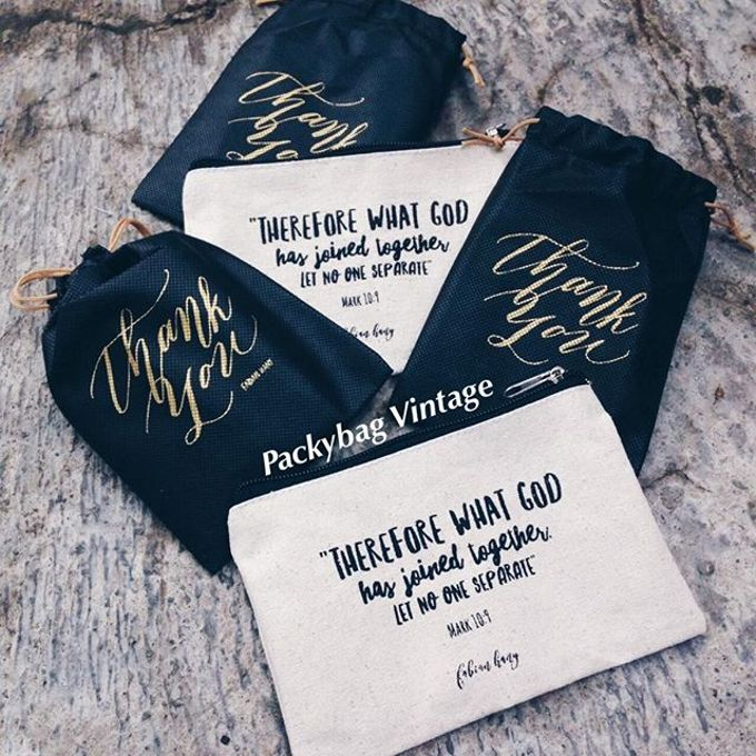 Fabian & Hany Wedding by Packy Bag Vintage - 002