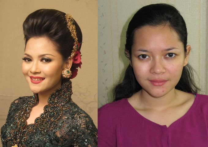 Before - After MakeUp & Hair Do by Andiyanto Salon - 005