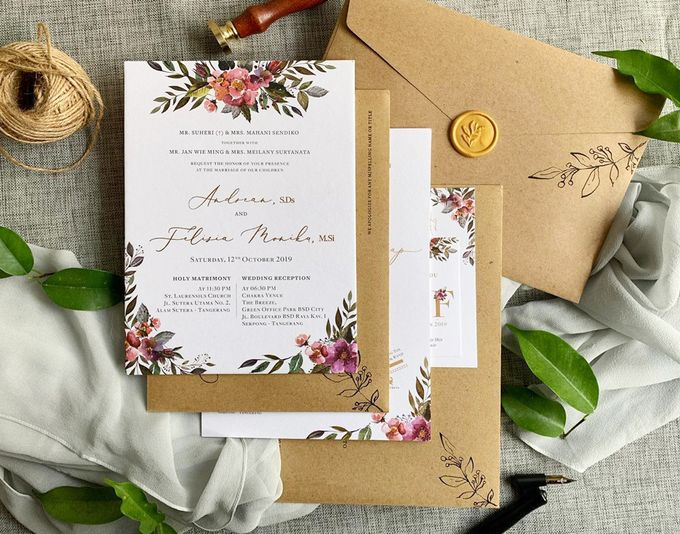 Spring Season by Trouvaille Invitation - 005