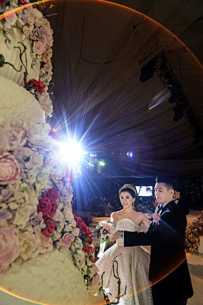 WEDDING OF ADHI & TIFFANY by Angie's Cake - 001