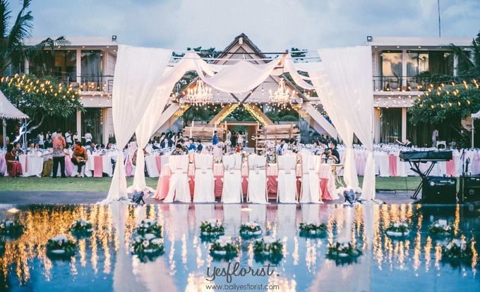 Wedding of Daniel & Melia by Bali Yes Florist - 007