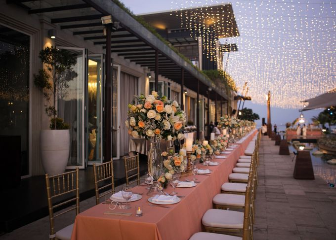 Wedding Decor at The Sakala Resort Bali by d'Oasis Florist & Decoration - 003