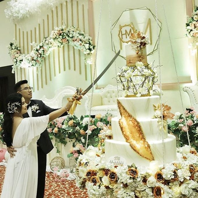 Wedding Cake - Real Wedding by RR CAKES - 023
