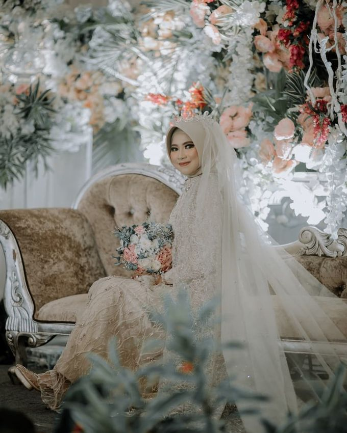The Wedding of Vina Haqqi by Eden Design - 005