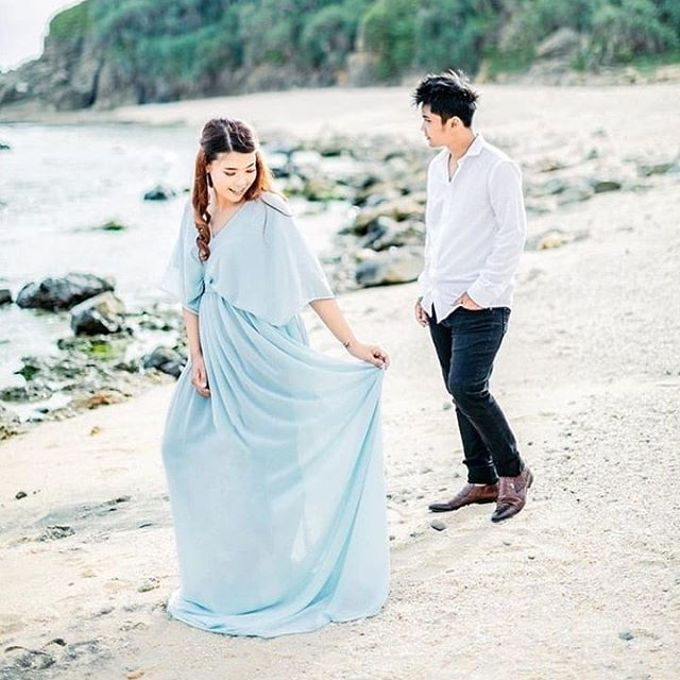 prewedding outdoor by White Make Up and Hair Do - 001