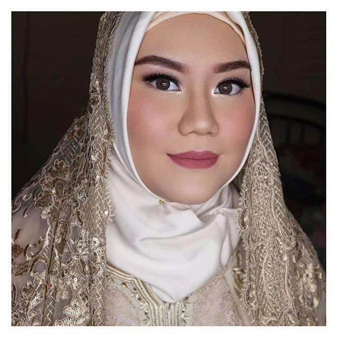 Muslimah Bride by R & E Bridal - 007