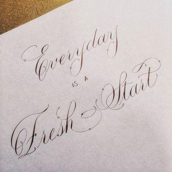 Wedding invitations by xuecalligraphy - 004