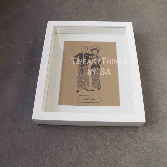 """The Bride and Groom"" Series - 1st edition, printed and framed by TweakyThings - 002"