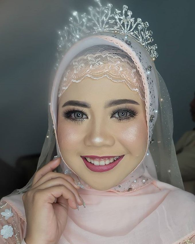 lita wedding by White Make Up and Hair Do - 004