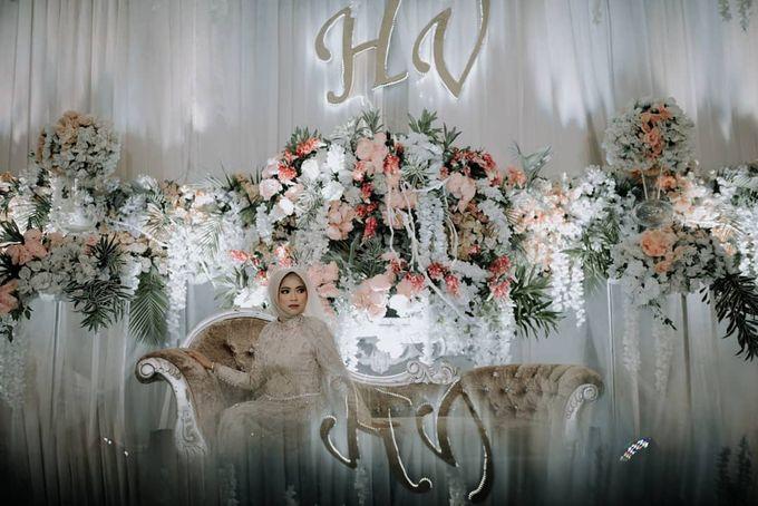 The Wedding of Vina Haqqi by Eden Design - 007