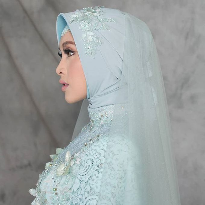 Gester Muslim Bridal by Gester Bridal & Salon Smart Hair - 043