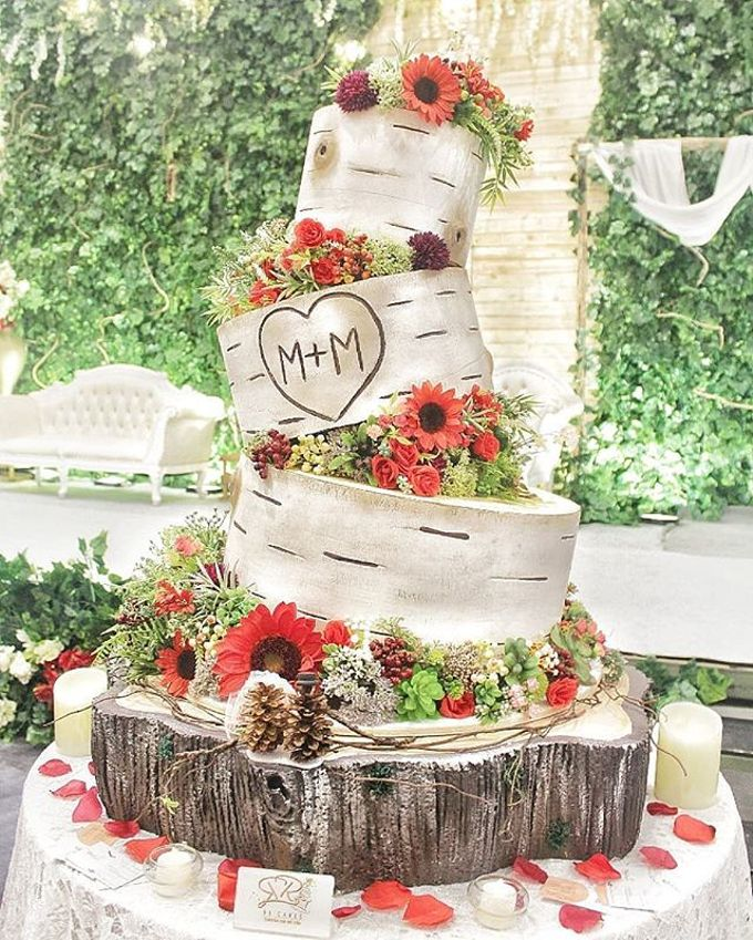 Wedding Cake - Real Wedding by RR CAKES - 022