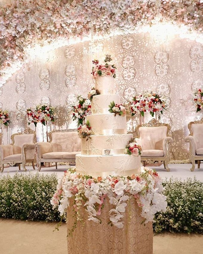 Wedding Cake - Real Wedding by RR CAKES - 025