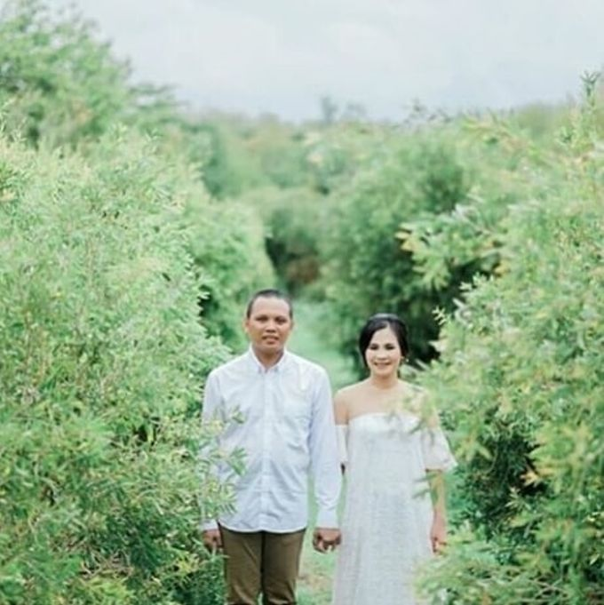 prewedding outdoor by White Make Up and Hair Do - 004