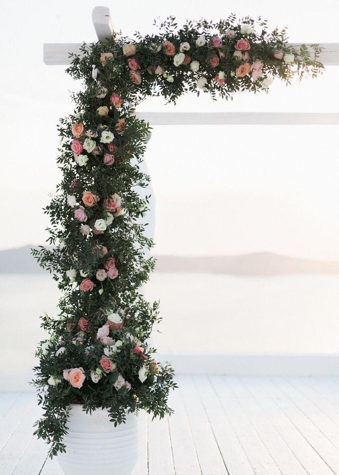 Dusty Pink Dream Wedding in Santorini by Stella & Moscha Weddings - 028