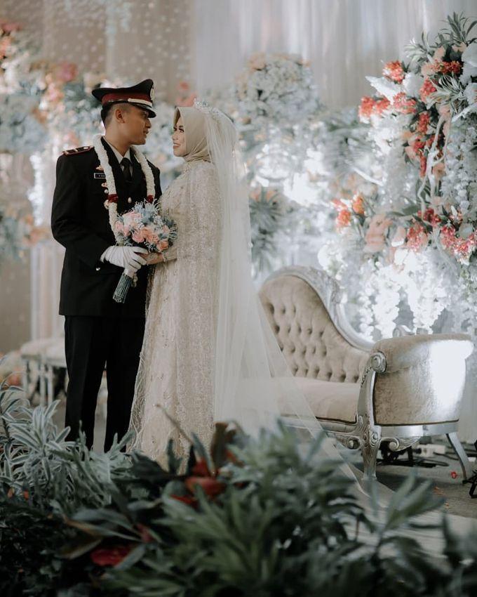 The Wedding of Vina Haqqi by Eden Design - 008