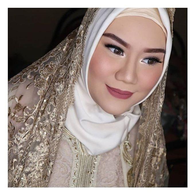Muslimah Bride by R & E Bridal - 008