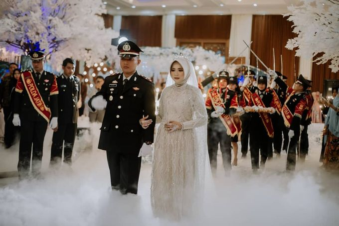 The Wedding of Vina Haqqi by Eden Design - 009