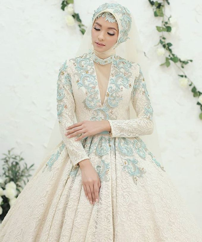 Gester Muslim Bridal by Gester Bridal & Salon Smart Hair - 046