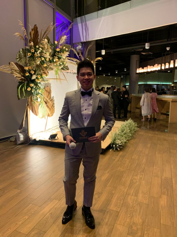 Jazz Wedding Entertainment - Double V  Entertainment with Anthony stevven MC  Intimate Open Restaurant Double Tree Jakarta by Anthony Stevven - 001