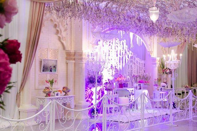 tema Padang dipadu dengan ukiran maroko by Watie Iskandar Wedding Decoration & Organizer - 006