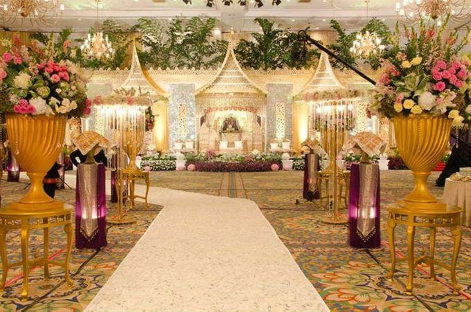 tema Padang dipadu dengan ukiran maroko by Watie Iskandar Wedding Decoration & Organizer - 007