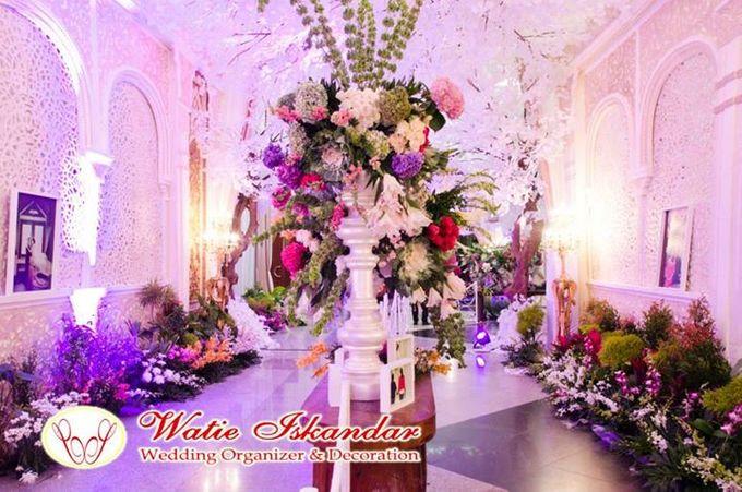 tema Padang dipadu dengan ukiran maroko by Watie Iskandar Wedding Decoration & Organizer - 009