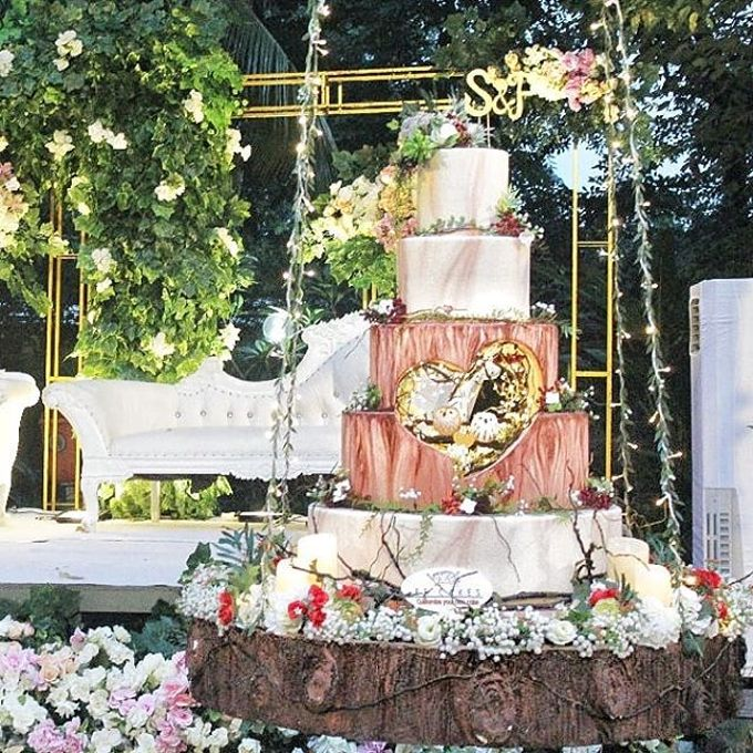 Wedding Cake - Real Wedding by RR CAKES - 020