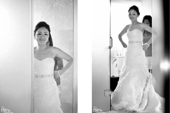 Bali Wedding Li Shun & Cong Xin at Royal Santrian Nusa Dua by Heru Photography - 008