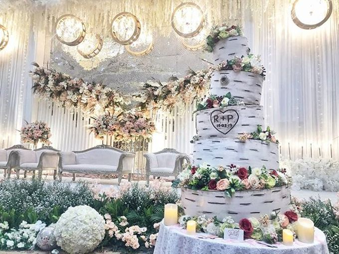 Wedding Cake - Real Wedding by RR CAKES - 018