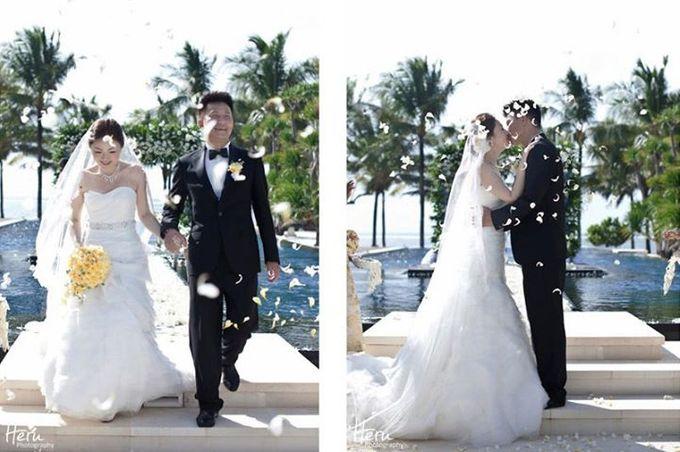 Bali Wedding Li Shun & Cong Xin at Royal Santrian Nusa Dua by Heru Photography - 016