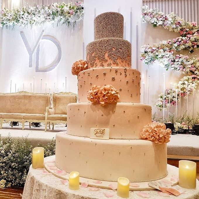 Wedding Cake - Real Wedding by RR CAKES - 021