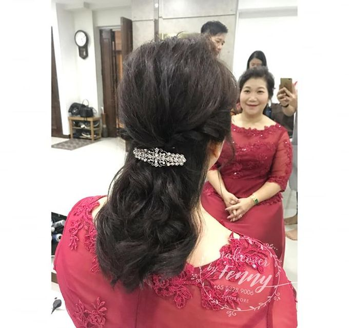 Bridal mum make up and hairdo by Fennymakeupartist - 001
