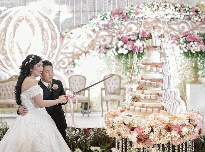 Wedding Cake - Real Wedding by RR CAKES - 015
