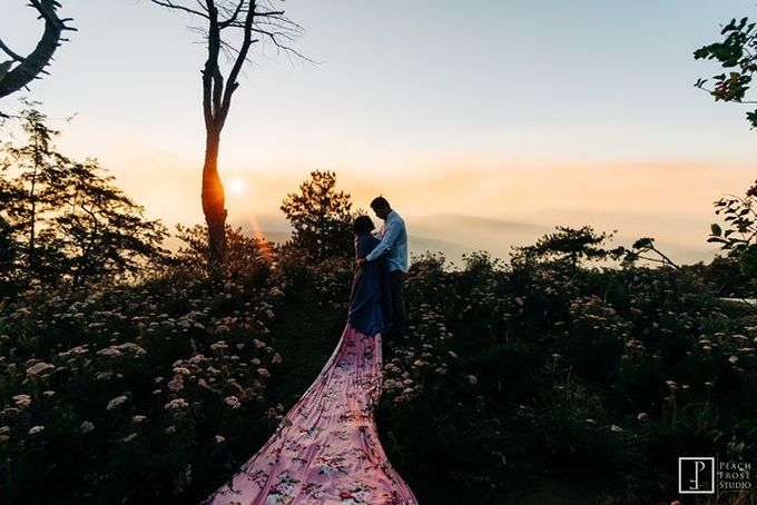 Sunrise pre wedding of Francis & Carla by Peach Frost Studio - 001
