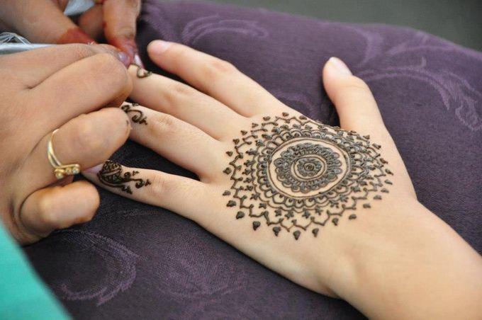 Mandala Bridal Design by Henna Tattoos and More - 001