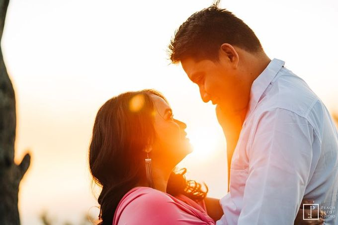 Sunrise pre wedding of Francis & Carla by Peach Frost Studio - 003