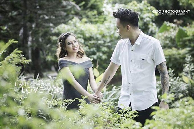Prewedding Indoor And Semi Outdoor by Herophotography - 014