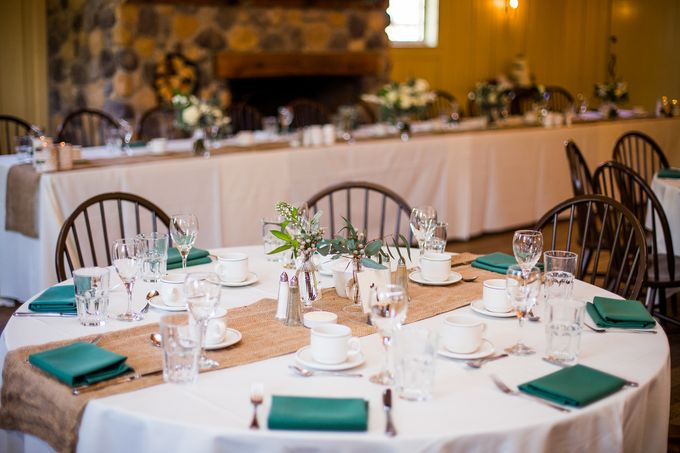 Rustic White and Green Wedding by Stone House Creative - 008