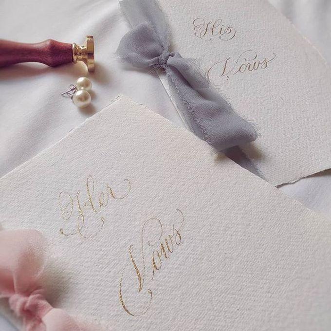 Wedding invitations by xuecalligraphy - 003