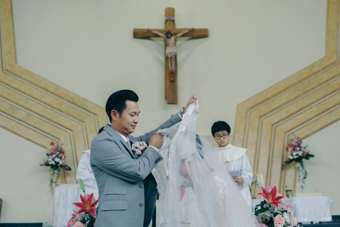 Tomas & Asti Jakarta Wedding by Ian Vins - 030