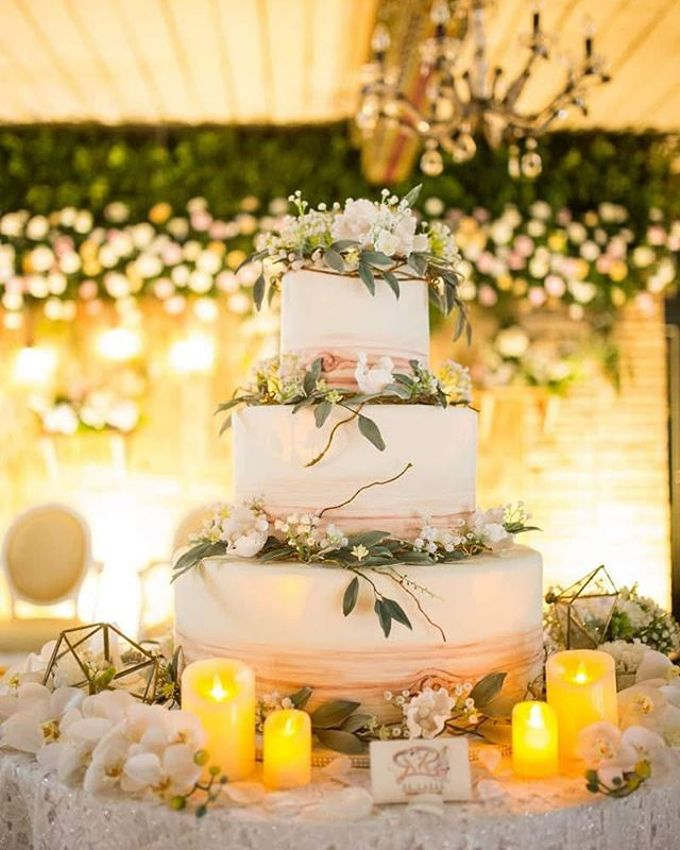 Wedding Cake - Real Wedding by RR CAKES - 016