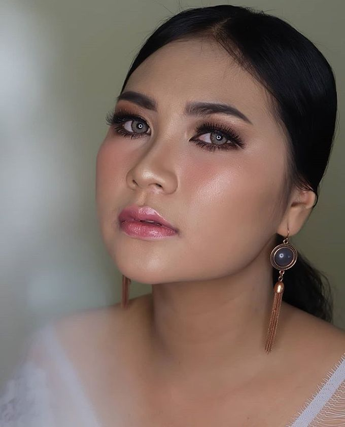 engagement makeup by White Make Up and Hair Do - 007