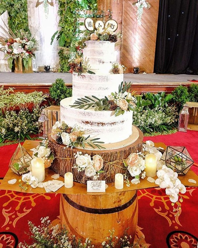 Wedding Cake - Real Wedding by RR CAKES - 014