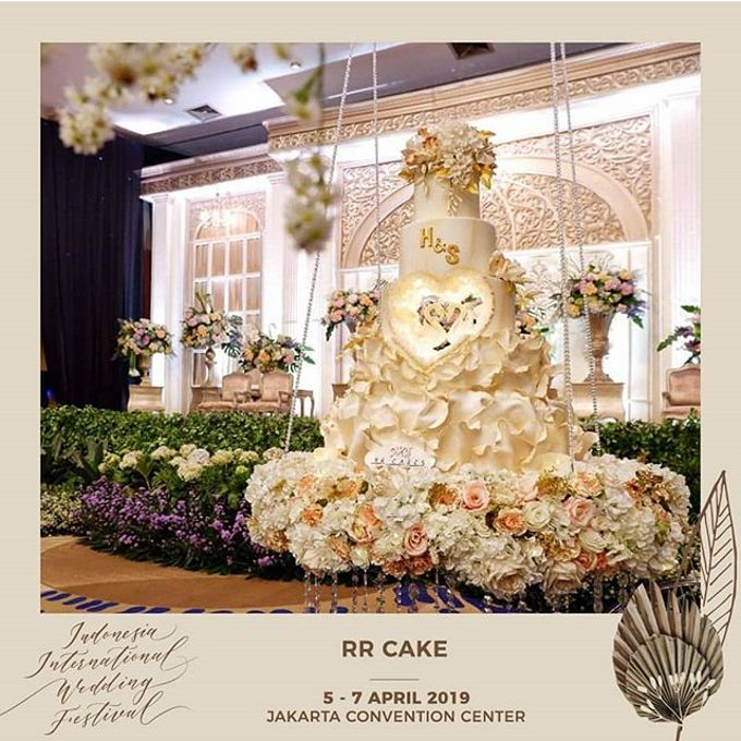 Wedding Cake - Real Wedding by RR CAKES - 011